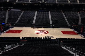 Atlanta Hawks Unveils New Court (Video)