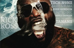 Rick Ross Covers Urban Ink Holiday 2014 Issue