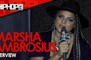 """Marsha Ambrosius Talks Her Tour & Album """"Friends & Lovers"""", Writing Movies, Artist Not Going Platinum & More With HHS1987 (Video)"""