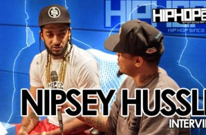 "Nipsey Hussle Talks ""Victory Lap"", Marathon Clothing, Working In Atlanta, Possible Label Deals & More With HHS1987 (Video)"