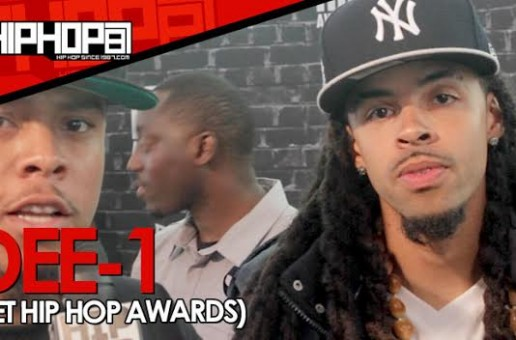 "Dee-1 Talks The 2014 BET Cypher, Ferguson, His EP ""Catch Me If I Fall"" & More (Video)"