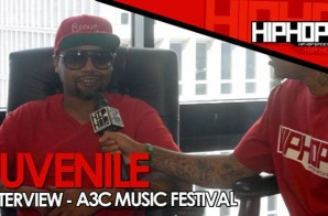 "Juvenile Talks His New Project, Rich Gang,The Importance Of A3C, ""Buku"" With Young Greatness, Longevity In Hip-Hop & More With HHS1987 (Video)"