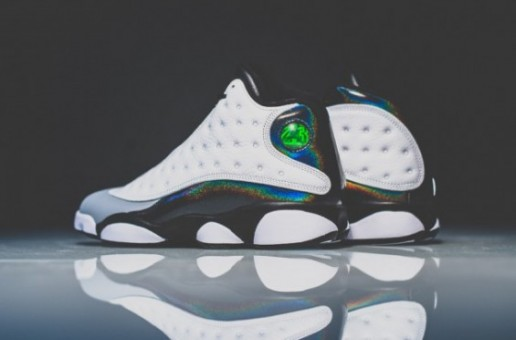 "Air Jordan 13 ""Hologram"" (Photos)"