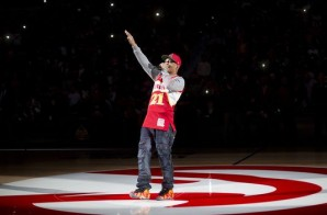 T.I. & Hustle Gang Perform During The Atlanta Hawks Home Opener (Video)
