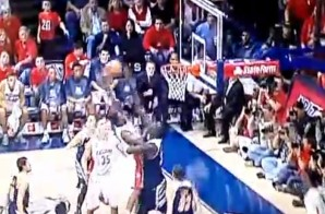 Smile For The Camera: Rondae Hollis-Jefferson Poster Dunk On 7'6 Mamadou Ndiaye (Video)
