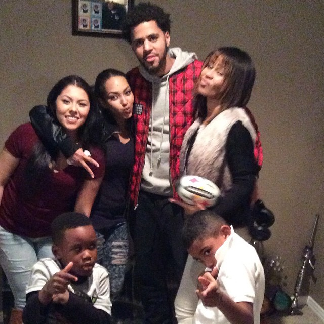 J Cole And His Family JcoleXFan