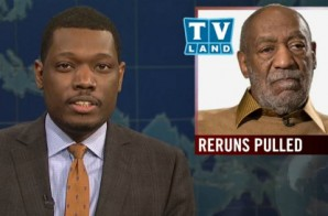 """SNL's Michael Che To Bill Cosby: """"Pull Your Damn Pants Up"""" (Video)"""