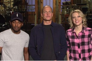 Kendrick Lamar & Woody Harrelson To Host SNL (Promo) (Video)
