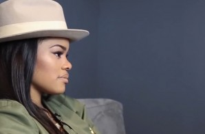 Teyana Taylor Hints Towards Forthcoming Jordan Brand Collaboration! (Video)