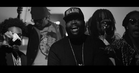 Migos – Black Bottles Ft. Rick Ross (Video)