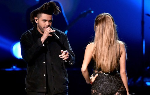 Ariana Grande & The Weeknd – Love Me Harder (Live At 2014 American Music Awards) (Video)