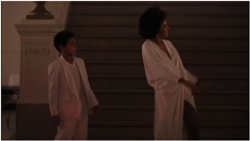 Solange & Her Son Julez Dance To 'No Flex Zone' At Her Wedding (Video)