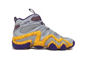 "Adidas Crazy 8 Jeremy Lin ""Lakers"" (Photos)"