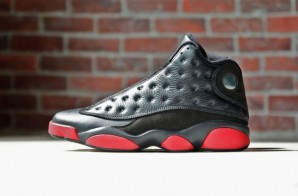 "Air Jordan 13 ""Black/Gym Red"" (Release Info & Photos)"