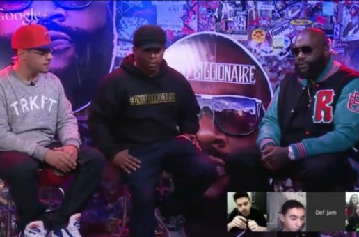 Rick Ross Speaks On Tink's Verse On 'Movin Bass' (Video)