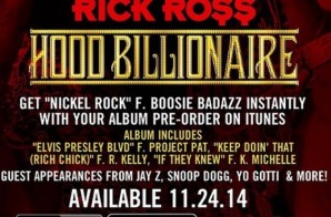 Rick Ross – Hood Billionaire (Album Stream)