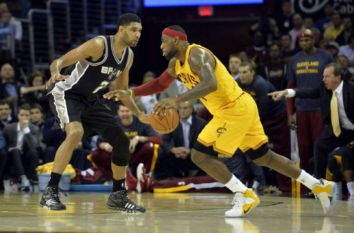 Showdown In Ohio: Tim Duncan's San Antonio Spurs Beat Lebron James & The Cleveland Cavs (Video)