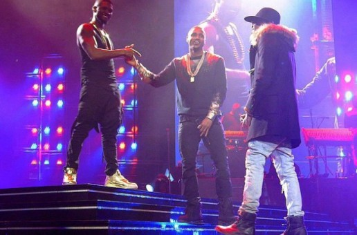 Trey Songz Joins Usher & August Alsina on The UR Experience Tour Stop In Chicago (Video)