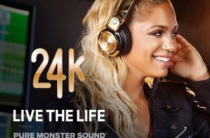 Meek Mill & Paloma Ford Launch New Monster 24K Headphones Ad Campaign (Enter To Win A free Pair Of Monster 24K Headphones)