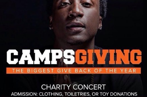 "K Camp Is Set To Give Back With His ""CampsGiving"" Charity Concert Tomorrow (Atlanta)"