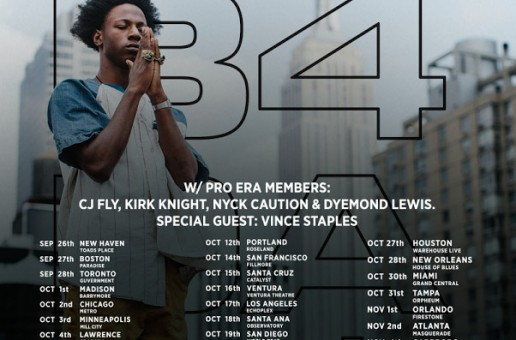 Win Tickets To See Joey Badass Perform Live In Philly on November 7th