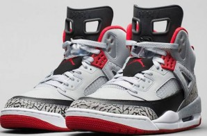 "Jordan Spizike ""Wolf Grey/Gym Red"" (Photos)"