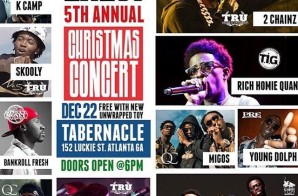 Street Execs Present: The 5th Annual Christmas Concert At The Tabernacle (Tonight Starting At 6pm)