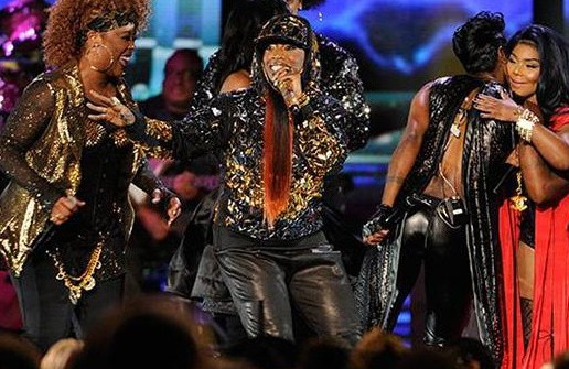 Eric Benet, Missy Elliot, Da Brat, Total, Lil Kim & Lady of Rage – Ladies Night (Live At 2014 Soul Train Awards) (Video)