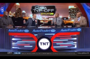 NBA Legends Charles Barkley & Kenny Smith Address Their Recent Ferguson Comments On Inside The NBA (Video)