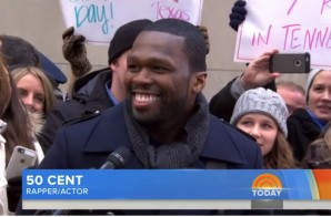50 Cent Lets Us Know New Music Is On The Way & Talks More On The Today Show (Video)