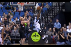 Minnesota Timberwolves High Flyer Shabazz Muhammad Drops The Hammer On Chris Kaman (Video)