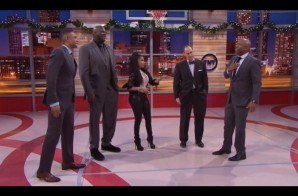 Nicki Minaj x Shaq x Kenny Smith x Grant Hill x Ernie Johnson – NBA On TNT Cypher (Video)