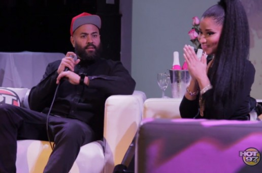 Nicki Minaj Celebrates The Release of 'The Pinkprint' w/ Her Barbs & Ebro! (Video)