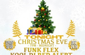 Funkmaster Flex, DJ Red Alert & DJ Chuck Chillout – HOT 97 Christmas Mix (2014)