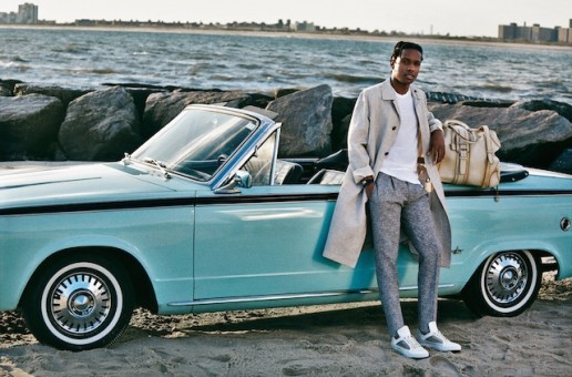 A$AP Rocky In New Salvatore Ferragmo Campaign