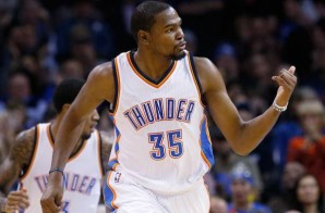 Kevin Durant Scores His 15,000th Career Point (Video)