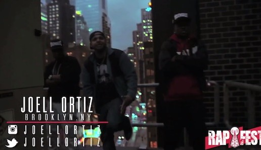 Joell Ortiz, Fred The Godson & Mally Stakz – The RapFest Cypher (Video)