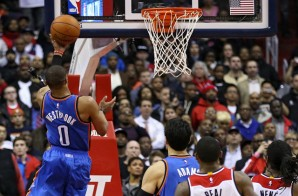 Russell Westbrook Scores The Game-Winning Layup To Defeat The Wizards In The Nation's Capitol (Video)