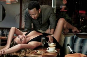 John Legend And Chrissy Teigen Heat Things Up For Their GQ Photo Shoot!