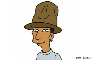 Pharrell Williams to Guest Star on The Simpsons!