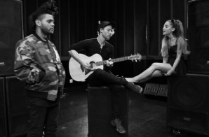 "Ariana Grande & The Weeknd Release Acoustic Version Of Their ""Love Me Harder"" (Video)"