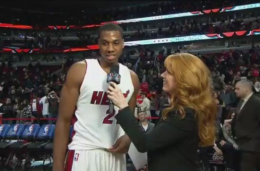 Miami Heat Big Man Hassan Whiteside Records A Triple-Double Which Included 12 Blocks Against The Chicago Bulls (Video)