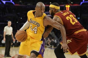 Kobe Bryant & LeBron James Duel In Tinseltown (Video)