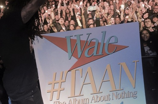 "Wale Announces His Forthcoming ""The Album About Nothing"" Will Be Released In March"