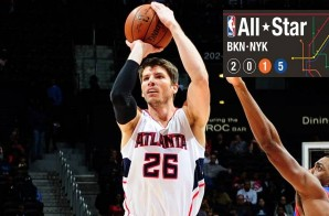 Atlanta Hawks Sharpshooter Kyle Korver Will Replace Dwyane Wade In The 2015 NBA All-Star Game