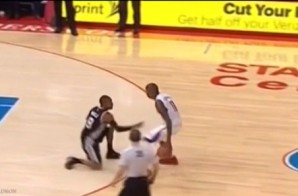 We Fall Down: Jamal Crawford Puts Patty Mills On One Knee With A Vicious Crossover (Video)