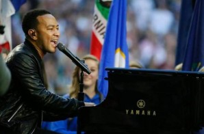 "John Legend Sings ""America The Beautiful"" At Super Bowl XLIX (Video)"