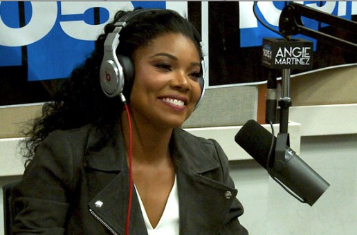 Gabrielle Union Talks Being Mary Jane, Charles Barkley Comments On Dwayne Wade & More With Angie Martinez (Video)