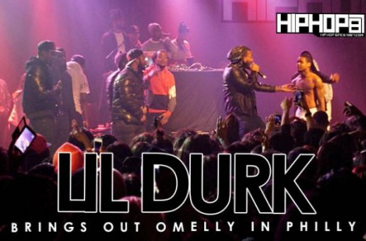 "Lil Durk Brings Out Omelly In Philly To Perform ""What You Saying"" (2/25/15) (Video)"