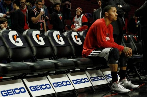 Ain't This Some Bull: Chicago MVP Derrick Rose Sidelined With A Meniscus Tear In His Right Knee